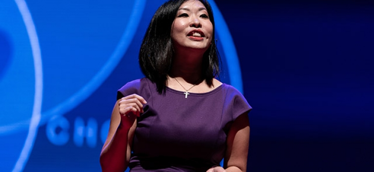What Dating Apps and Algorithms Don't Tell You – Violet Lim at TEDxNTU
